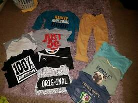 bundle of boys clothes 8-10 years