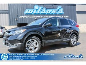 2017 Honda CR-V EX | AWD | SUNROOF | REMOTE START | HTD SEATS |
