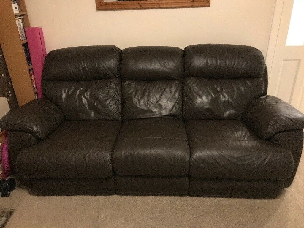 Fully Reclining Leather 2 Amp 3 Seater Sofas In Rochdale