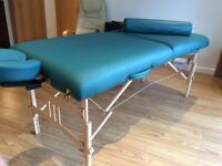EarthLite Massage Table (American) Top Quality. Like New. Absolute Steal.