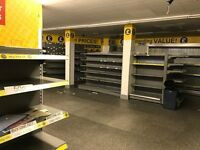 Verco Retail Shop Refridgeration - 4 No. Open fridges and 2 No. Double Chillers