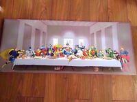DC Comics Superheroes Canvas, The Last Supper 51x122cm