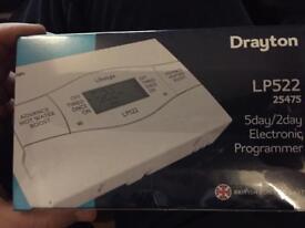 Drayton 5/2day electronic programmer LP522