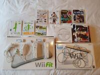 Large Nintendo Wii Bundle