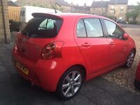 TOYOTA YARIS SR 1.8 2008 ONLY 52.000 MILES. EXCELLENT CONDITION.