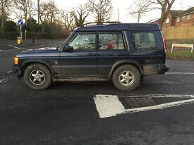 Landrover td5 7seater private plate