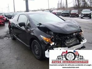 2015 Honda Civic SI COUPE SROOF CAMERA DE RECUL ROU ET PNEU HIVE