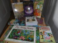 7 Kids Picture Books Bundle+muddle puzzles