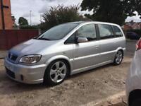Modified Vauxhall Zafira
