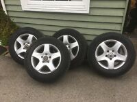 VW TOUAREG ALLOY WHEELS . May fit Transporter?