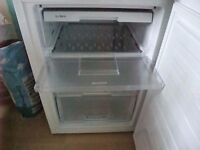 White Undercounter Freezer.