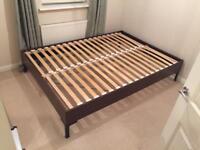 Ikea double bed frane