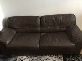Leather Sofa £20