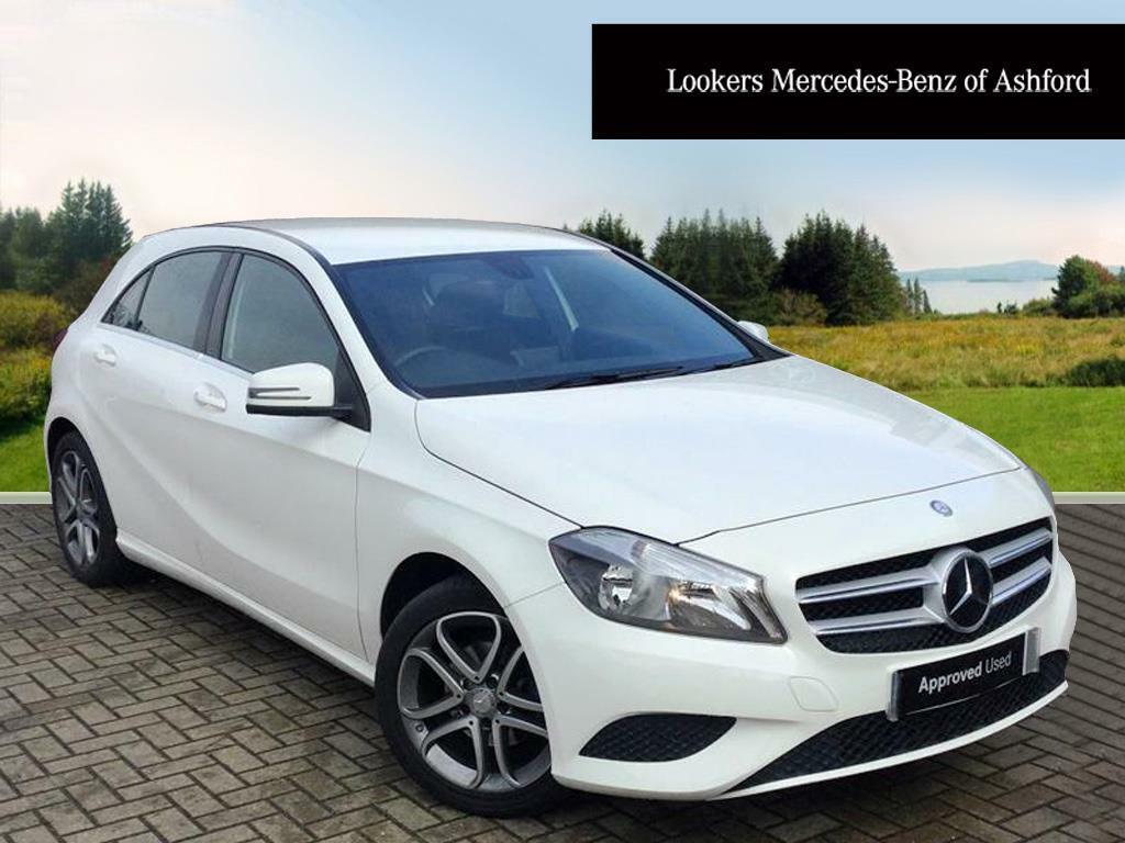 Mercedes-Benz A Class A180 CDI BLUEEFFICIENCY SPORT (white) 2015-02-