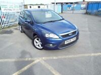 2009 FORD FOCUS 1.6 ZETEC FULL MOT 3 MONTH WARRANTY PX WELCOME **FINANCE AVAILABLE**