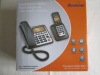 NEW Binatone Concept Combo 3525 Twin Corded & cordless Telephone NEW BOXED