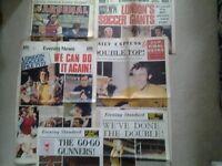 1971 football newspapers