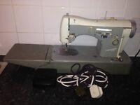 Necchi Supernova sewing machine.