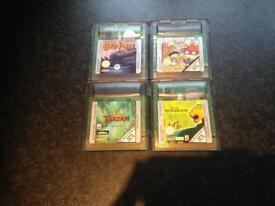 Job lot of 4 Gameboy advance color games- collect Fareham Po15