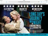Two tickets to watch an acclaimed West End production with Jeremy Iron