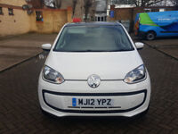 VOLKSWAGEN UP 1.0 2012 . 19 K MILES. 1 YEAR MOT . SUPERB DRIVE. 20 QUID ROAD TAX. IDEAL FIRST CAR