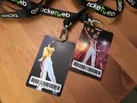 2 VIP tickets for Queen Photo Exhibition: PRINCESS OF THE UNIVERSE