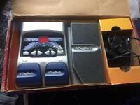 Digitech RP80, modelling guitar pedal with Drum machine