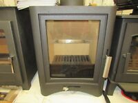 BROSELEY EVOLUTION 5KW DEFRA APPROVED MULTI FUEL STOVE TOP QUALITY £750 NO OFFERS