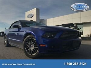 2013 Ford Mustang V6 Premium, One Owner, Local Trade, 6 Speed !!