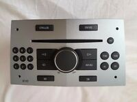 Vauxhall cd player