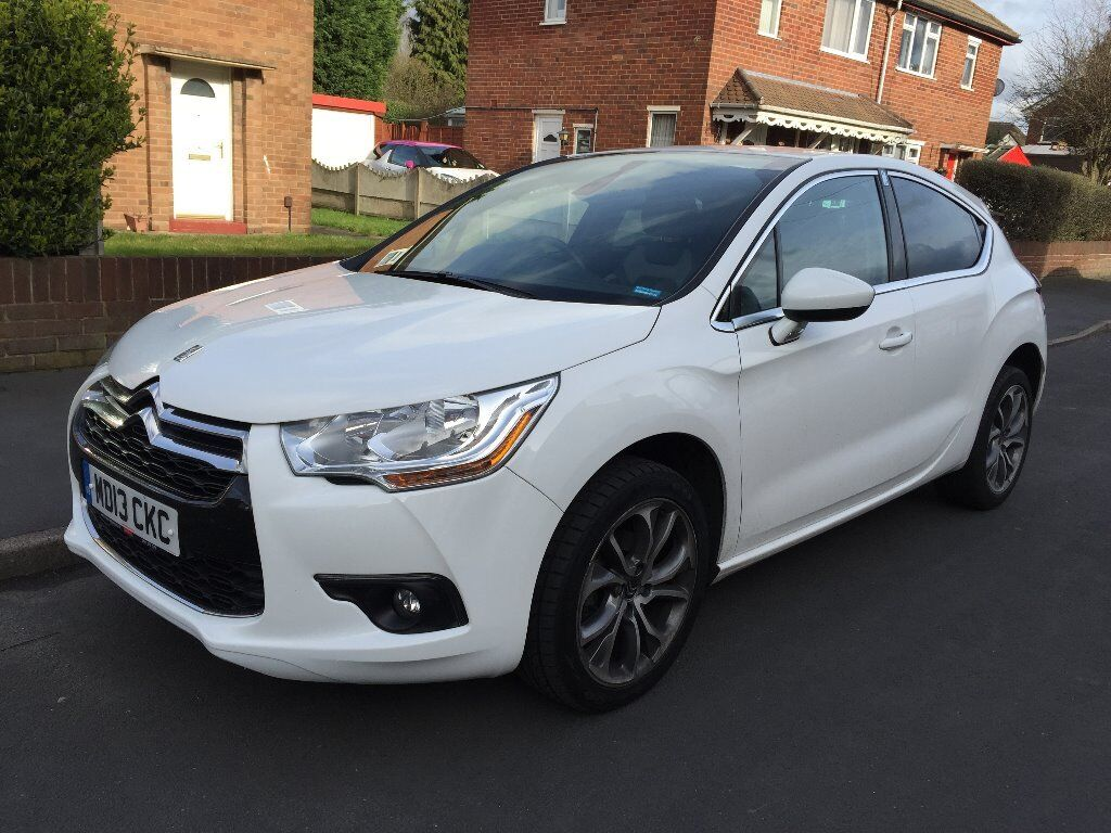 citroen ds4 automatic diesel metallic white perfect condition dstyle airdream 13 plate in. Black Bedroom Furniture Sets. Home Design Ideas
