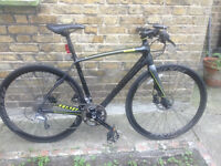 2015 SPECIALIZED SIRRUS COMP CARBON BIKE WITH LIGHTS