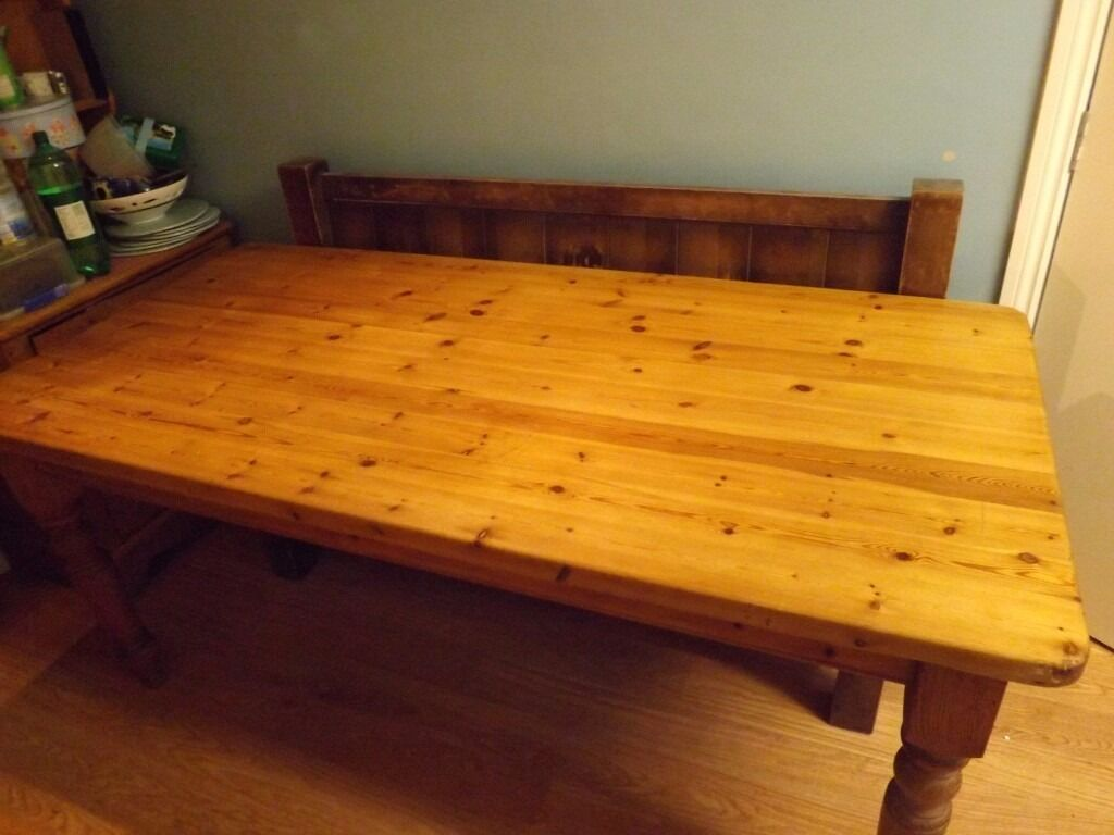 Solid Pine Kitchen Table *** reasonable offers accepted*****