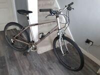 "Unisex Adults Bike - 26"" wheel, frame size 18"""