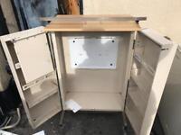 Steel medical trolley/cabinet