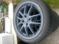 "17"" Alloy wheel x 4 Ford fitment 215/40/17"