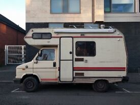 TALBOT EXPRESS 1300 MOTOR HOME - 1989 REG - NEEDS REPAIRS BUT WAS WORKING WELL UNTIL RECENTLY