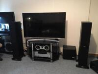 Tannoy eclipse speakers with Onkyo TX-NR575E receiver WHOLE SET