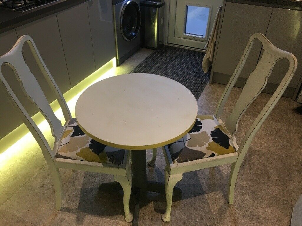 Amazing Table And Chairs Small Set Suitable For Kitchen In Enderby Leicestershire Gumtree Interior Design Ideas Gentotthenellocom