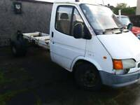 Transit 190 LWBchassis cab/recovery truck . Spares or repair