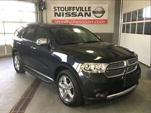 Dodge Durango citadel hemi loaded dvd and leather 2013