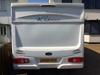 Lunar 2 berth 2004 motor mover , porch awning excellent condition ready to go