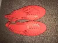 Coral Jelly sandals/shoes