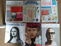 Art/Craft magazines