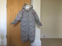 Baby snow suit, 18-24 months
