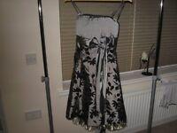 Dress190 Grey Cocktail Dress size 10/12