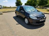 2007 RENAULT CLIO finished in BLACK