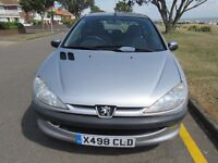 Peugeot 206 - Spares and repairs but is drivable