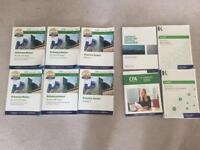 CFA Level 1 Schweser books + extra exam preparation books