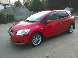 09.toyota Auris 1.6 Tr 6 speed 5 door One owner 2 keys great driver ( can be viewed inside anytime)